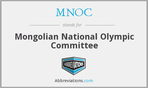 MNOC - Mongolian National Olympic Committee