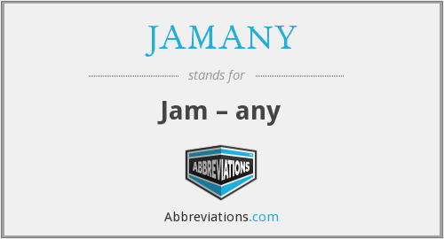 What does JAMANY stand for?