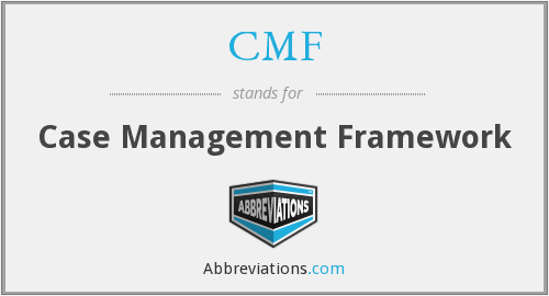 CMF - Case Management Framework