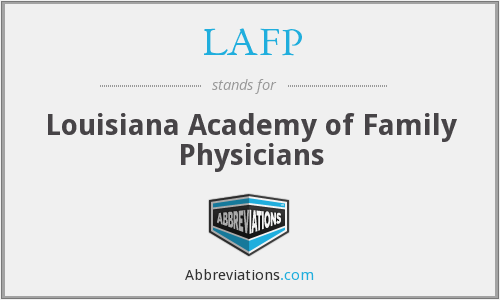 LAFP - Louisiana Academy of Family Physicians
