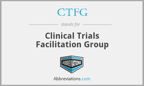 CTFG - Clinical Trials Facilitation Group