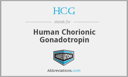What does HCG stand for?