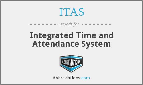 ITAS - Integrated Time and Attendance System