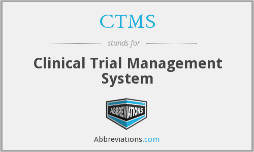 What does CTMS stand for?