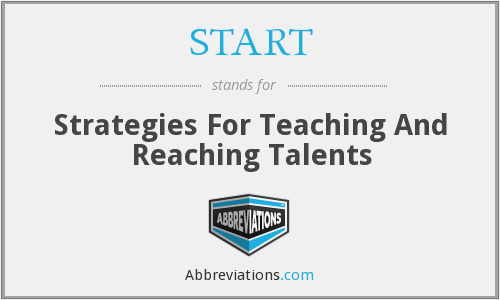 START - Strategies For Teaching And Reaching Talents