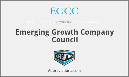 EGCC - Emerging Growth Company Council