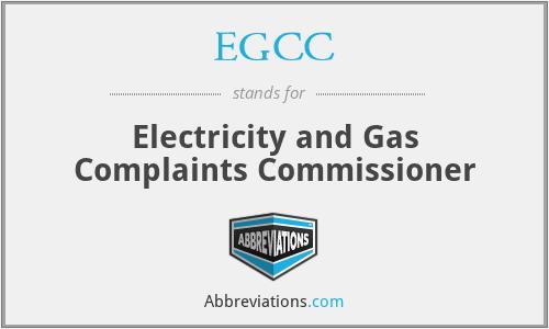 EGCC - Electricity and Gas Complaints Commissioner