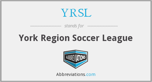What does YRSL stand for?