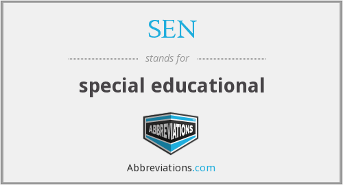 SEN - special educational