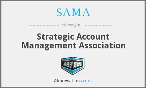 SAMA - Strategic Account Management Association