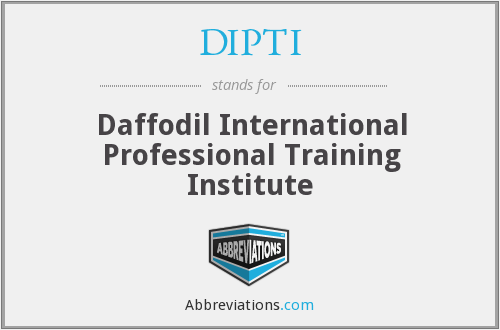 What does DIPTI stand for?