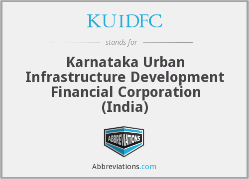 KUIDFC - Karnataka Urban Infrastructure Development Financial Corporation (India)