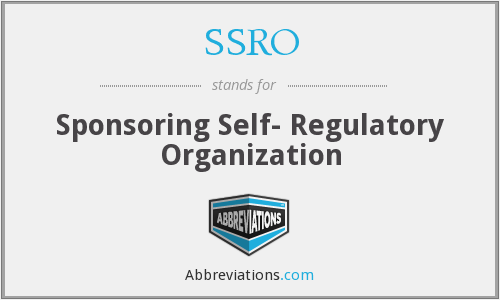 What does SSRO stand for?