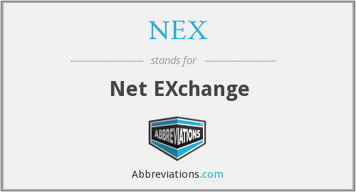 NEX - Net EXchange