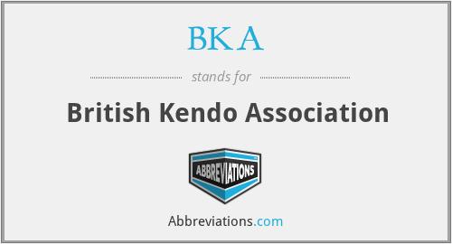 BKA - British Kendo Association