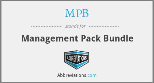 MPB - Management Pack Bundle