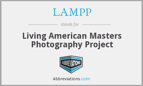 LAMPP - Living American Masters Photography Project