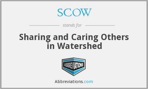 What does SCOW stand for?