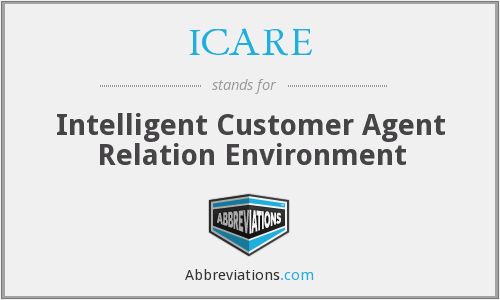 ICARE - Intelligent Customer Agent Relation Environment