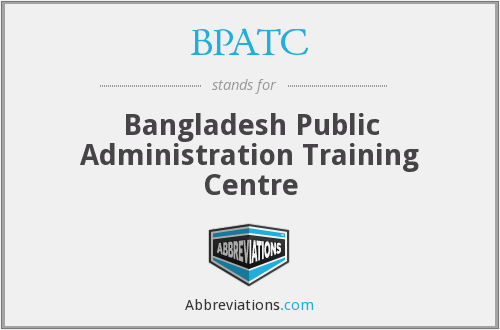 What does BPATC stand for?