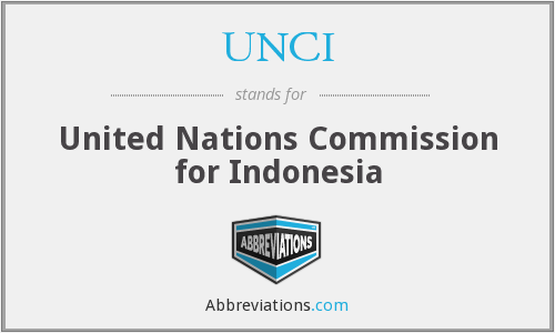 What does UNCI stand for?