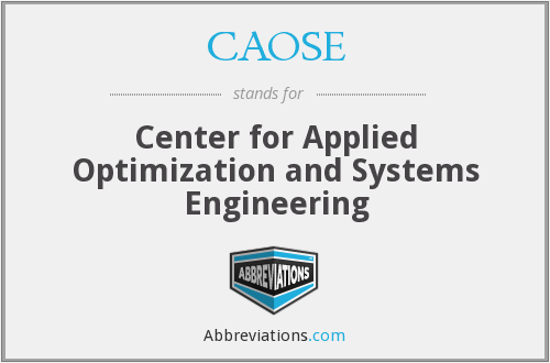 What does CAOSE stand for?