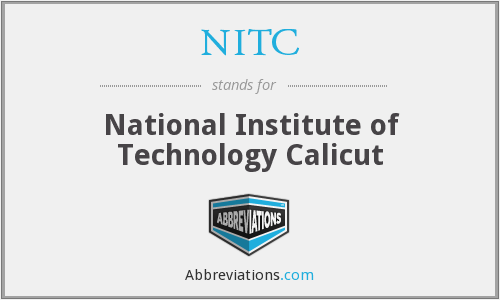 NITC - National Institute of Technology Calicut