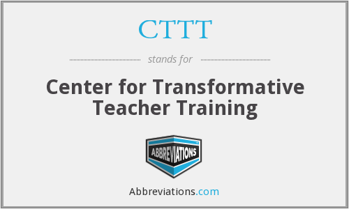 CTTT - Center for Transformative Teacher Training