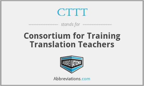 CTTT - Consortium for Training Translation Teachers