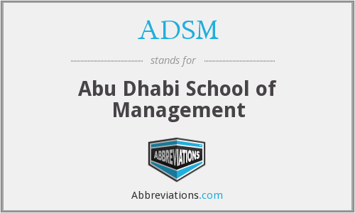 What does ADSM stand for?
