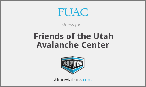 FUAC - Friends of the Utah Avalanche Center