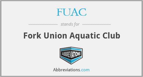FUAC - Fork Union Aquatic Club