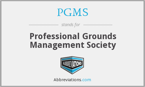 What does PGMS stand for?