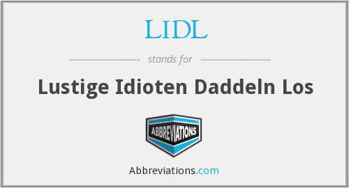 What does LIDL stand for?