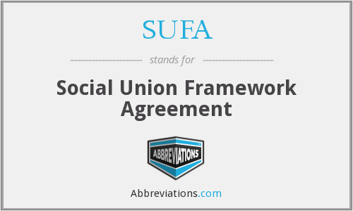 What Is The Abbreviation For Social Union Framework Agreement