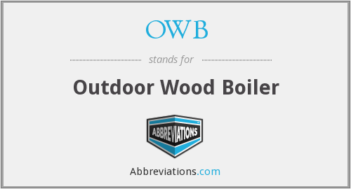 OWB - outdoor wood boiler