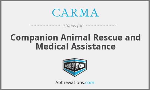 CARMA - Companion Animal Rescue and Medical Assistance
