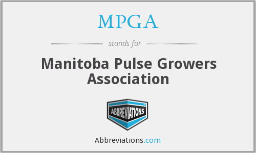 MPGA - Manitoba Pulse Growers Association