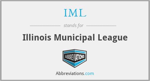 IML - Illinois Municipal League