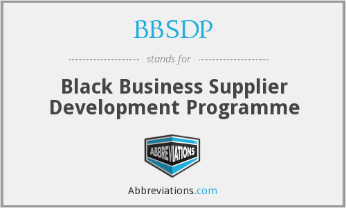 What does BBSDP stand for?
