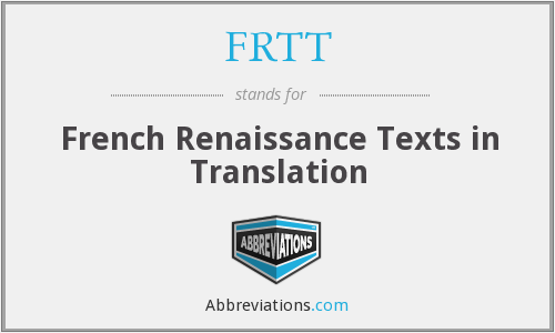 What does FRTT stand for?