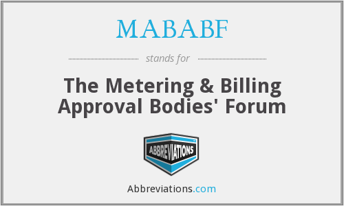 What does MABABF stand for?