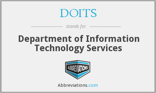 What does DOITS stand for?