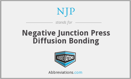 NJP - Negative Junction Press Diffusion Bonding