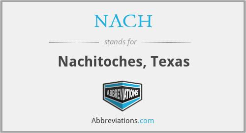 NACH - Nachitoches, Texas