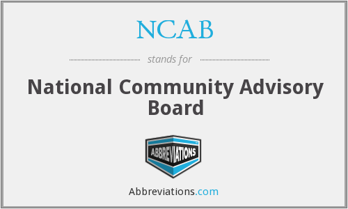 What does NCAB stand for?