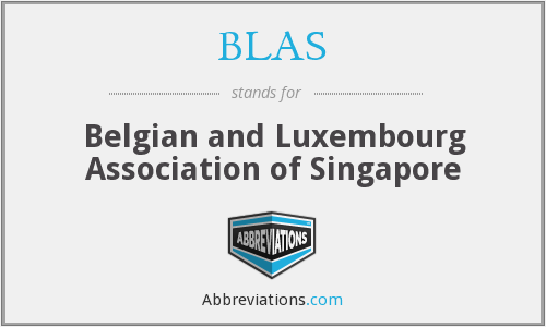 What does BLAS stand for?