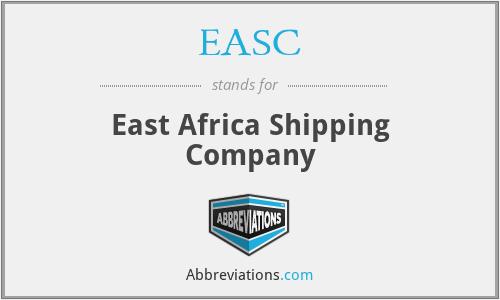EASC - East Africa Shipping Company