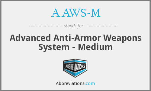 What does AAWS-M stand for?