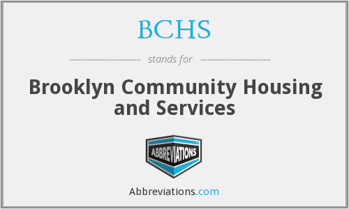 BCHS - Brooklyn Community Housing and Services